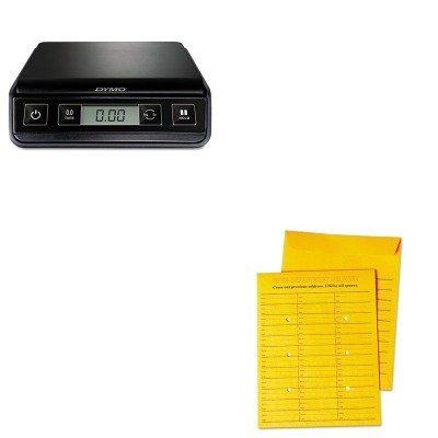 KITPEL1772055UNV63570 - Value Kit - Universal Interoffice Press amp;amp; Seal Envelope (UNV63570) and Dymo M3 Digital Postal Scale ()