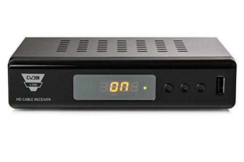 Opticum HD C200 PVR - HD Kabelreceiver (PVR Ready, HDMI, Full HD, USB, EPG, SCART) schwarz