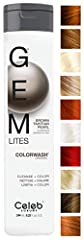 VIBRANT BOLD COLOR Say goodbye to dull, lifeless color that fades after a few washes. With Gem Lites' line of amazing color-rich enhancer shampoos, you can extend and infuse colored vibrancy into each strand of your hair, enhancing the color ...