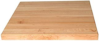 "product image for John Boos Square Butcher Block Table Top, 24"" W x 24"" D x 1-1/2"" H, Maple"