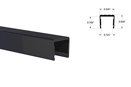 orange-aluminum-shelf-stiffener-3-4-fit-black-powder-coat