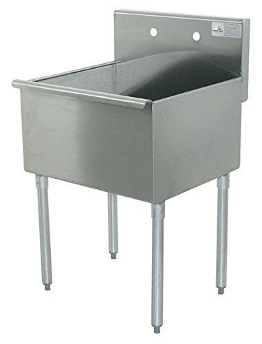 Compartment Square Corner Sink - 9