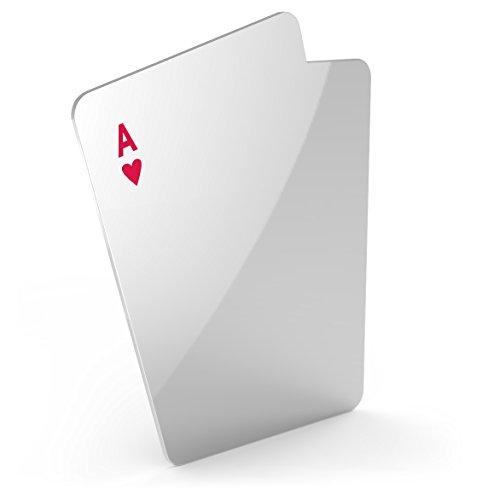 Fred POKERFACE Playing Card Pocket Mirror