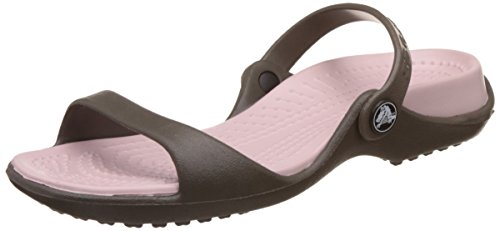 cotton Crocs Ouvert Candy Femme Cleo Chocolate Sandales Bout wYzz7xZq