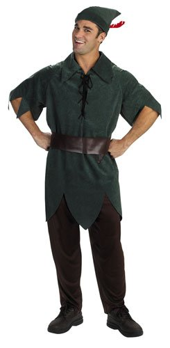 Disney Adult Peter Pan Costume X-Large (42-46), (Peter Pan Costume Men)