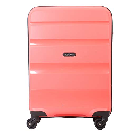 American Tourister Polycarbonate Brandon Spinner Hard Trolley 55 cm Cabin Luggage   22 inch Pink