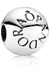 PANDORA Sterling Silver Loving PANDORA Clip Charm 791015