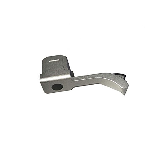 JFOTO LMS-G Thumbs Up Grip Designed for Leica M, M-P, Typ240, M240, M246, Typ246, M262, M-D, M240P, Better Balance & Grip Convenience, Camera Silver Metal Hand Grip