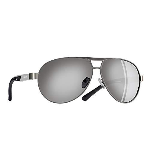 Silver Los Sol Protección Aluminio De De Piloto De Clásico Gafas Gafas Sol De Gafas De Hombres Polarizadas Verano Piloto Sol Gafas De De De Gafas FKSW Magnesio Hq0XwxnFBx