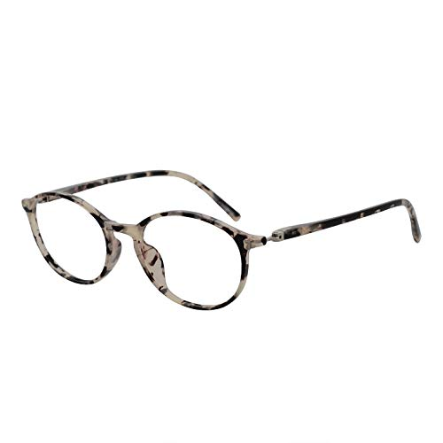 Reading Glasses for Men and Women Lightweight Small Face Spectacles Eyewear ()
