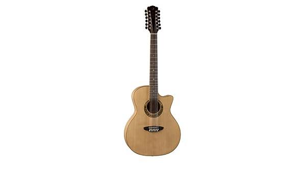 Luna MUS GAC 12 - Guitarra electroacústica (12 cuerdas): Amazon.es: Instrumentos musicales