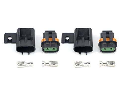 WMYCONGCONG 2 Pack Waterproof Sealed ATO ATC Fuse Holder (2 Pack) ()