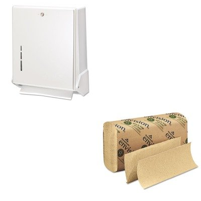 (KITGEP23304SJMT1905WH - Value Kit - Georgia Pacific Multifold Paper Towel (GEP23304) and San Jamar True Fold Metal Front Cabinet Towel Dispenser (SJMT1905WH))