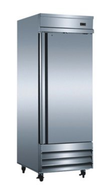 """29"""" One Section Solid Door Reach in Refrigerator - 23 Cu. Ft."""