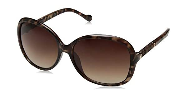 Amazon.com: Jessica J5393 Ts Simpson - Gafas de sol redondas ...