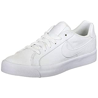Nike Womens Court Royale Ac Canvas Fashion Sneaker Cd5405-101 Size 6