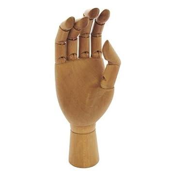 12 Artistsshop Wooden Manikin Mannequin Hand Adult