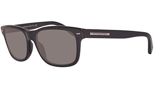 Ermenegildo Zegna Sunglasses Ez0001 01d Shiny Black / Polarized Grey Ez0001-01d from Ermenegildo Zegna