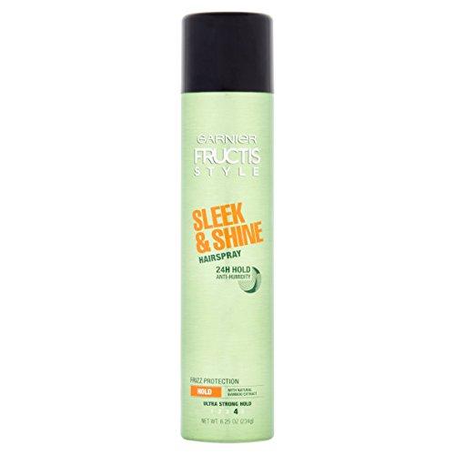 Garnier Fructis Style Anti-Humidity Hairspray Sleek & Shine 8.25 oz (Pack of 2)