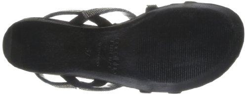 305 Sandales Femme Blue 0214 Coral Cb black Noir TFZxqw