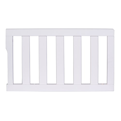 Dream On Me Universal Convertible Crib Toddler Guard Rail, White