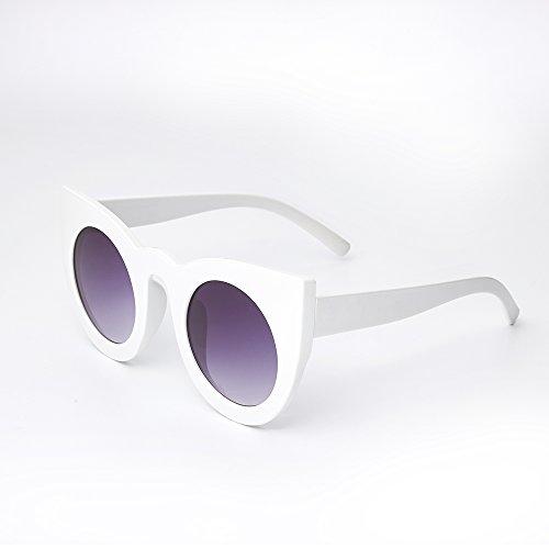 el sol sombras BJ5148 para de cosecha de Sunglasses ojo gafas de BJ5148 estilo UV400 mujer C7 C8 TL redondo Gafas de femenina Señor verano de gato de la vqwyF7BP