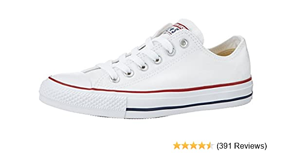 best cheap ceb51 82993 Amazon.com   Converse Unisex Chuck Taylor All Star Low Top Sneakers Optical  White, US Men s 7.5   Women s 9.5   Fashion Sneakers