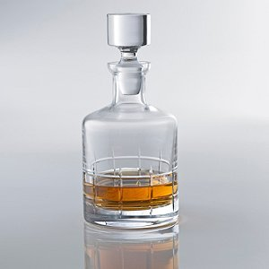 [Wine Enthusiast Soho Whiskey Decanter, Clear] (Soho Wine Decanter)
