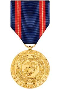 (Medals of America Marine Corps Service Commemorative Medal Anodized)