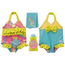 Baby Alive Reversible Outfit – Poolside Cutie Bathing Suit – Medium, Baby & Kids Zone