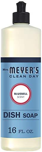 Mrs. Meyer's Liquid Dish Soap, Bluebell, 16 Fluid O