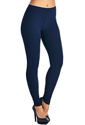 八ストロー透けるLeggings Mania PANTS レディース US サイズ: One Size カラー: ブルー