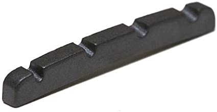 Graph Tech Black Tusq XL Fender P Bass Guitar Slotted Nut NEW PT-1204