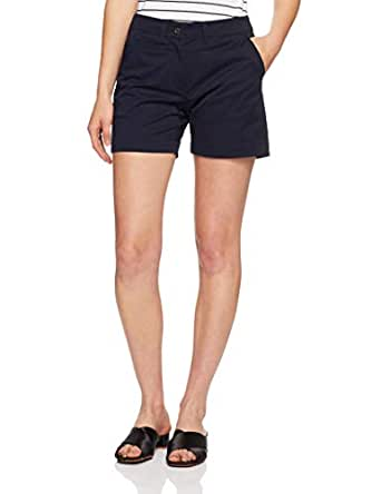 French Connection Women's KARLA COTTON SHORT, Nocturnal, Eight