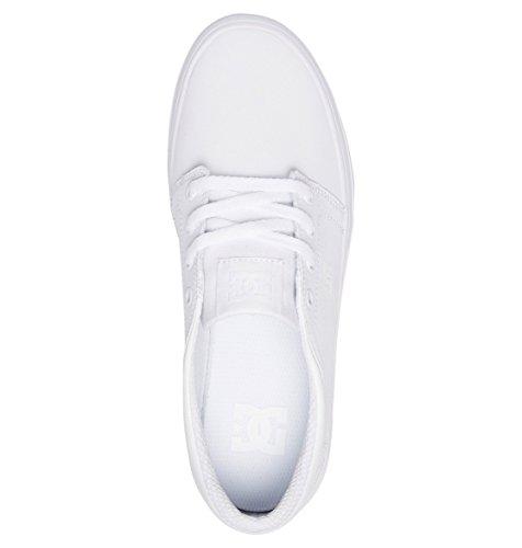 White Shoes DC Mujer Platform Trase para ADJS300195 Zapatos UpBq60xp