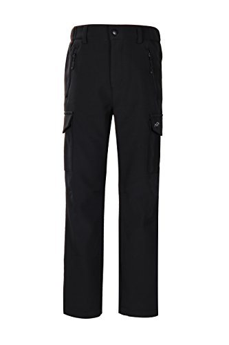 Trailside Supply Co. Big Boy's Water-Repellent Softshell Fleece-Lined Pant (Snowmobile Fleece)