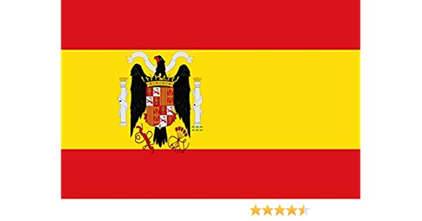 magFlags Bandera Large Régimen franquista según el Escudo adoptado ...