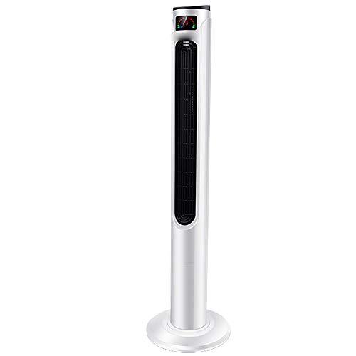 BLWX - Floor Fan-Electric Fan Home Ultra-Quiet Tower Fan Remote Control Floor Fan Shaking Head Leafless Fan Vertical Fan/40w-220v Stand Fan (Color : Remote Control ()