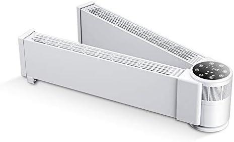 180°折りたたみベースボード電気ヒーター-床対流暖房省エネ高速ヒーター、IP24に適した過熱安全保護、防水バスルームリビングルームとベッドルーム,2000w