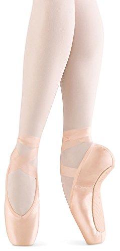 Bloch Women's Aspiration Pointe Pink Ballet Flats 7 D