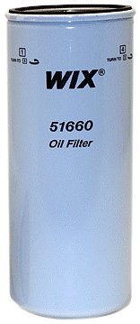 WIX Filters - 51660 Heavy Duty Spin-On Lube Filter, Pack of 1 by Wix
