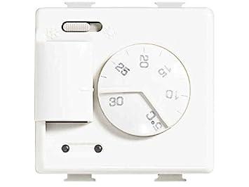 Bticino matix - Termostato frio/calor 2 módulos matix: Amazon.es: Bricolaje y herramientas