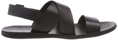 Noir Sandals Open Men's Kickers Toe Black 8 Marveus IZwqY