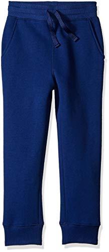 Amazon Essentials   Boys' Fleece Jogger Sweatpant, Navy S (6-7)