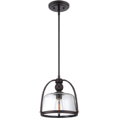 Quoizel QPP1401WT One Light Piccolo Mini Pendant-Western Bronze, Small -