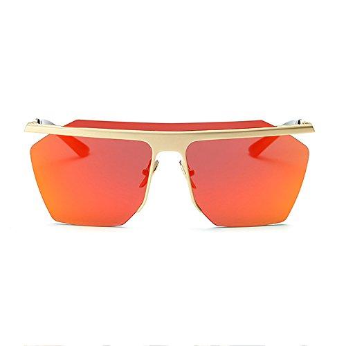 De Masculinas Femeninas Hombres Sol Sol Gafas del De Los del Los Silver Sol Gafas Deportes De De Femeninas Gafas Salvajes Y Marea De Gafas Caballero Clip Orange qS78Ex7