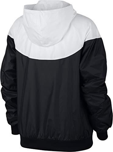 black Mujer Chaqueta white Nike Jkt Black W Nsw Wr white fCPqU