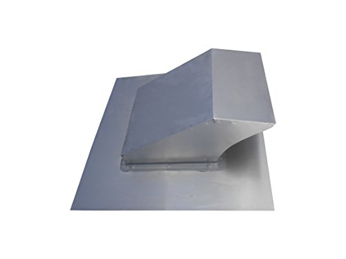 4 Inch Roof Vent Hood Cap Galvanized Damper & Screen - Vent Works by Vent Works (Image #4)