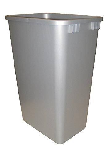 Rev-A-Shelf 50qt Replacement Waste Bin Silver