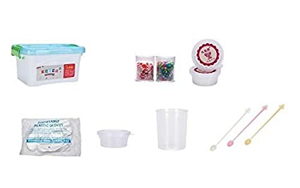 Amazon homemade slime kit how to make slime putty and goo homemade slime kit how to make slime putty and goo includes slime containers ccuart Gallery